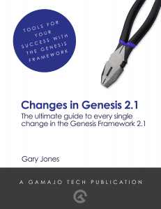 Changes in Genesis 2.1